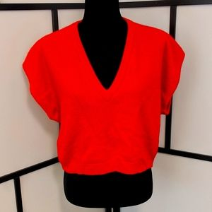 ✨3 for $40✨ Vintage Wool Boxed Crop Sweater/Vest
